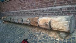 Radständer Baumstamm klein